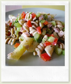 Garten-Nudelsalat